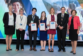 2018 Minerva James Ham student winners